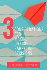 parenting considerations